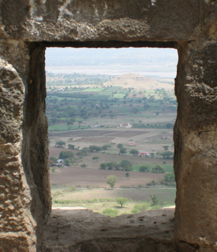 Shivneri Fort view