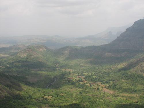 Malshej Ghat valley
